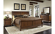 Liberty Rustic Traditions 4-Piece King Bedroom Set