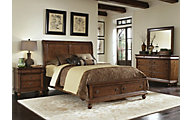 Liberty Rustic Traditions 4-Piece King Storage Bedroom Set