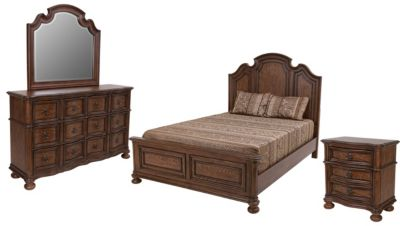 Liberty Tuscan Valley 4-Piece Queen Bedroom Set