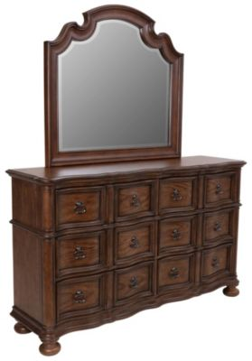Liberty Tuscan Valley Dresser with Mirror