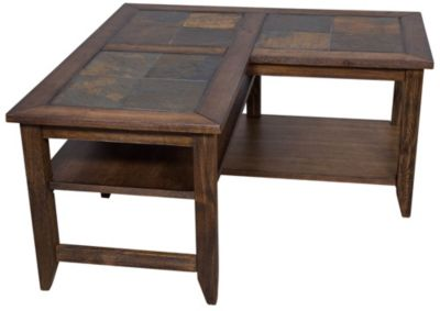 Liberty Brookstone L-Shaped Coffee Table