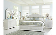 Liberty Summer House I 4-Piece King Storage Bedroom Set