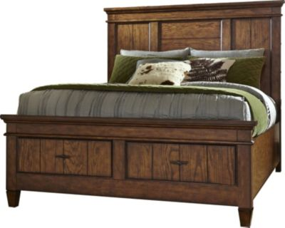 Liberty Rocky Mountain Queen Storage Bed