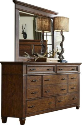 Liberty Rocky Mountain Dresser with Mirror
