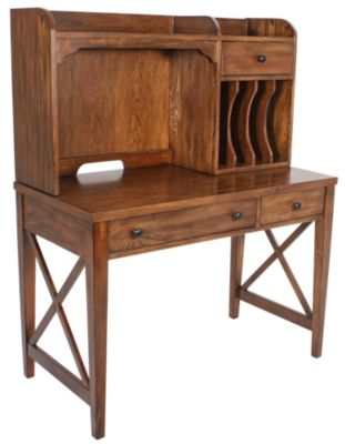 Liberty Hearthstone Desk & Hutch