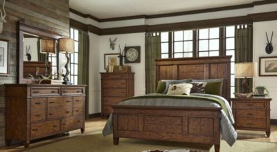 Liberty Rocky Mountain 4-Piece Queen Panel Bedroom Set