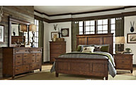 Liberty Rocky Mountain 4-Piece King Panel Bedroom Set