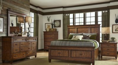 Liberty Rocky Mountain 4-Piece King Storage Bedroom Set
