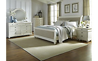 Liberty Harbor View II 4-Piece King Sleigh Bedroom Set