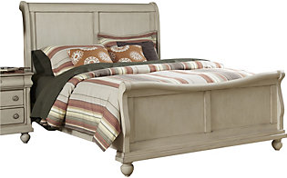 Liberty Rustic Traditions II King Sleigh Bed