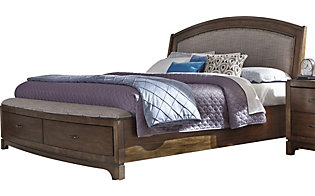 Liberty Avalon III Queen Upholstered Storage Bed