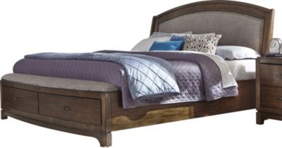 Liberty Avalon Iii King Upholstered Storage Bed