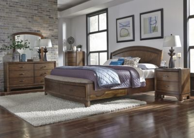 Liberty Avalon III 4-Piece King Storage Bedroom Set
