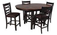Liberty Bistro II Counter Table & 4 Stools