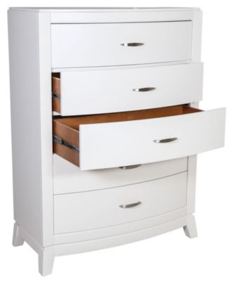 Liberty Avalon II White Kids' Chest