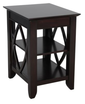 Liberty Piedmont Shelf End Table