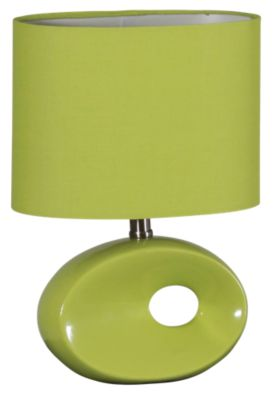 Lite Source Hennessy II Green Table Lamp