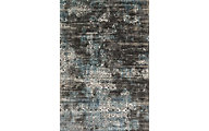 Loloi Kingston Charcoal/Blue 7' x 10'