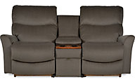La-Z-Boy Rowan 3-Piece Rocking Reclining Loveseat w/Console