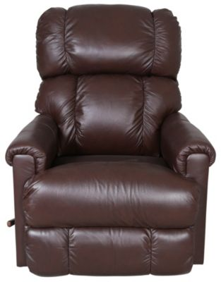 La-Z-Boy Pinnacle Leather Swivel Rocker Recliner