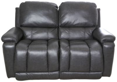 La Z Boy Greyson 100 Leather Reclining Loveseat