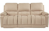 La-Z-Boy Greyson Cream Reclining Sofa