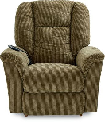 La-Z-Boy Jasper Brown Power Rocker Recliner W/ Hand Wand