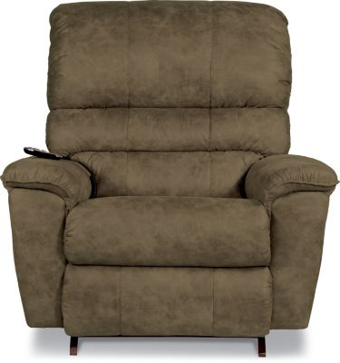 La-Z-Boy Vince Mocha Power Rocker Recliner