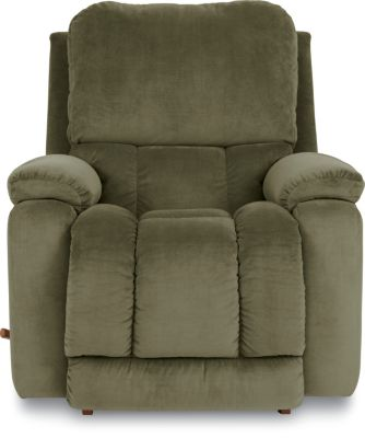 La-Z-Boy Greyson Green Rocker Recliner