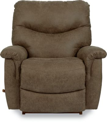 La-Z-Boy James Coffee Rocker Recliner