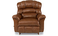 La-Z-Boy Crandell Caramel Leather Rocker Recliner