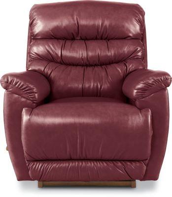 La Z Boy Joshua Leather Rocker Recliner Homemakers Furniture