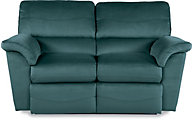 La-Z-Boy Reese Forest Green Reclining Loveseat