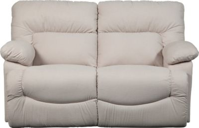 La-Z-Boy Asher White Reclining Loveseat