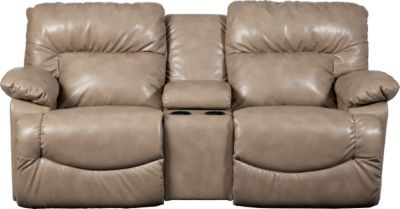 La-Z-Boy Asher Reclining Loveseat with Console