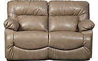 La-Z-Boy Asher Beige Reclining Loveseat