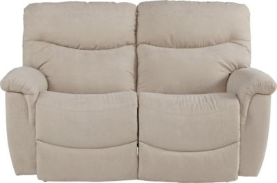 La-Z-Boy James White Reclining Loveseat
