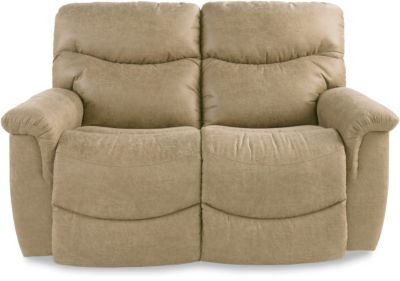 La-Z-Boy James Almond Reclining Loveseat