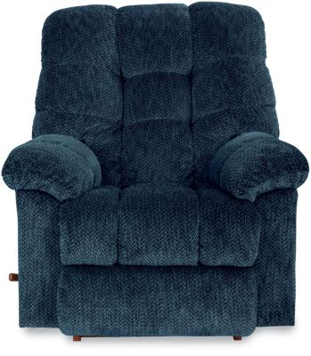 La-Z-Boy Gibson Blue Rocker Recliner