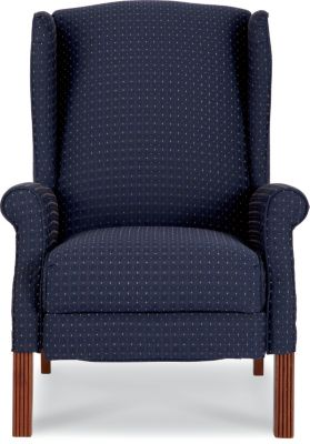 La-Z-Boy Ferguson Navy Wing High-Leg Recliner