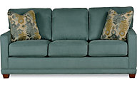La-Z-Boy Kennedy Teal Queen Sleeper Sofa
