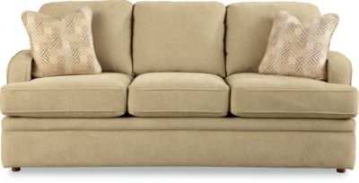 La-Z-Boy Diana Premier Tan Queen Sleeper Sofa