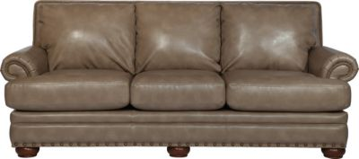 La-Z-Boy Brennan Tan Bonded Leather Sofa
