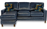 La-Z-Boy Uptown 100% Leather Sofa Chaise