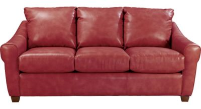 La-Z-Boy Keller Red Leather Sofa