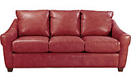 La-Z-Boy Keller Red 100% Leather Sofa