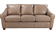 La-Z-Boy Keller Tan Bonded Leather Sofa