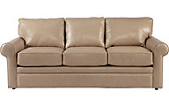 La-Z-Boy Collins Tan 100% Leather Sofa
