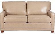 La-Z-Boy Kennedy 100% Leather Apartment Sofa