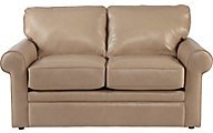 La-Z-Boy Collins Tan 100% Leather Loveseat